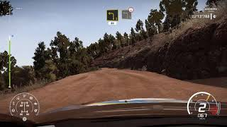 WRC 8 - Rally Chile - HIGH SPEED STAGE - Gameplay Onboard