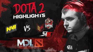 NAVI Dota2 Highlights vs M19, Effect, Empire @ MDL Macau CIS Qualifier