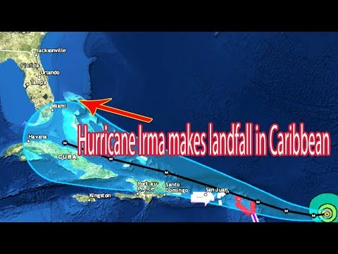Hurricane Irma makes landfall in Caribbean - Daily News