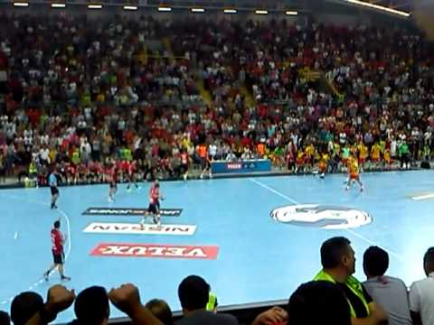 hc vardar fc barcelona handball last minute youtube. Black Bedroom Furniture Sets. Home Design Ideas