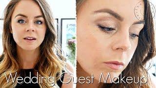 Wedding Guest Makeup // Natural Organic Makeup