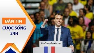 Pháp chính thức có Tổng thống trẻ nhất lịch sử | VTC1
