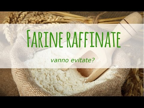 Risultati immagini per effetti dannosi della farina raffinata