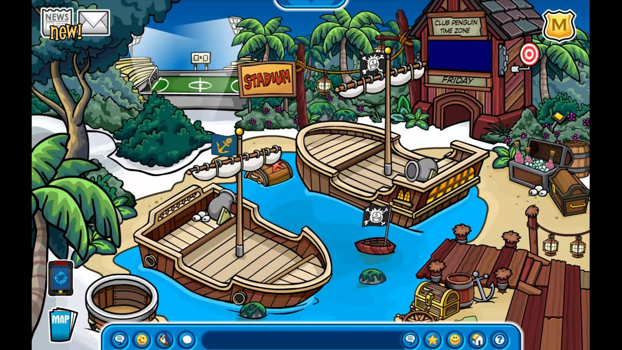 Club Penguin Music Adventure Party 2011 Theme 2 Jungle Theme Youtube