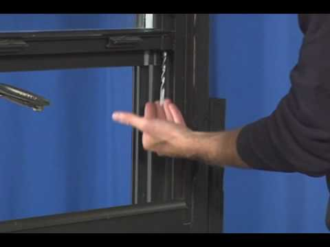 Window Repair Replacing A Spiral Balance In Non Tilting You