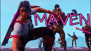 New Fortnite MAVEN Skin Gameplay