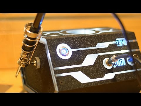 "Цифровая паяльная станция. Паяльник ""Сделай сам"" на базе Hakko T12. (DYI Project IronTron by S.PiC)"