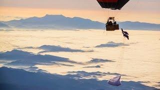 The Human Slingshot - High Altitude Paragliding