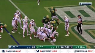 2019 Football Highlights - BYU at USF