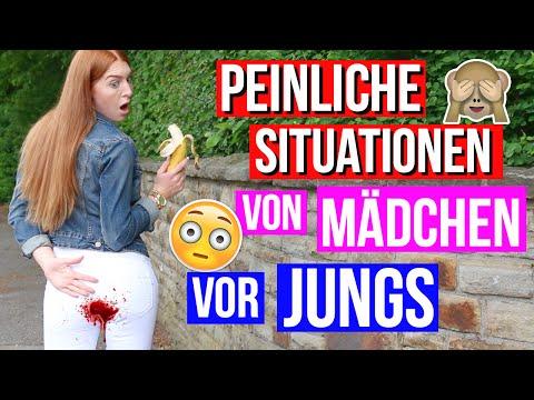 14 PEINLICHE SITUATIONEN von MÄDCHEN vor JUNGS!   LaurenCocoXO