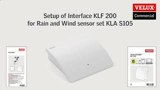 KLF 200 – Set-up via Web interface