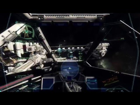 Star Citizen Alpha 2.1 Live:  Space Combat, Covalex Investig