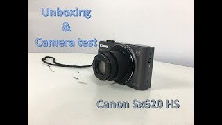 CANON POWERSHOT SX620 HS UNBOXING - MY NEW CAMERA