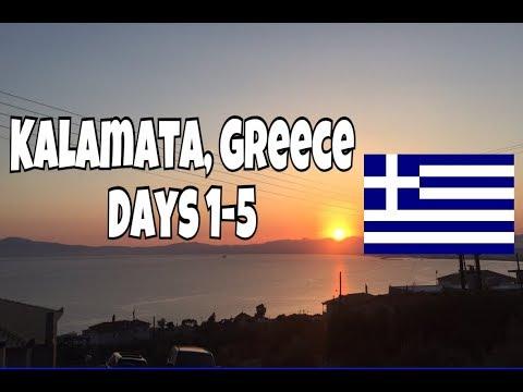 Kalamata, Greece VLOG days 1-5