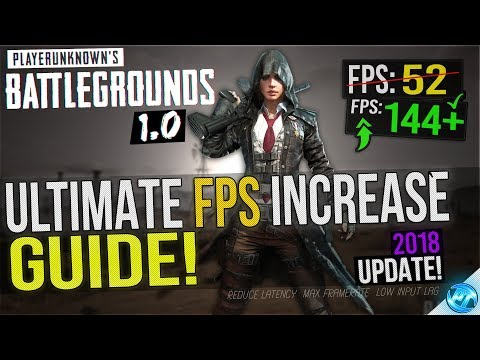 🔧 BATTLEGROUNDS: 1.0 UPDATE! Dramatically increase performance / FPS with any setup! Lag drop fix