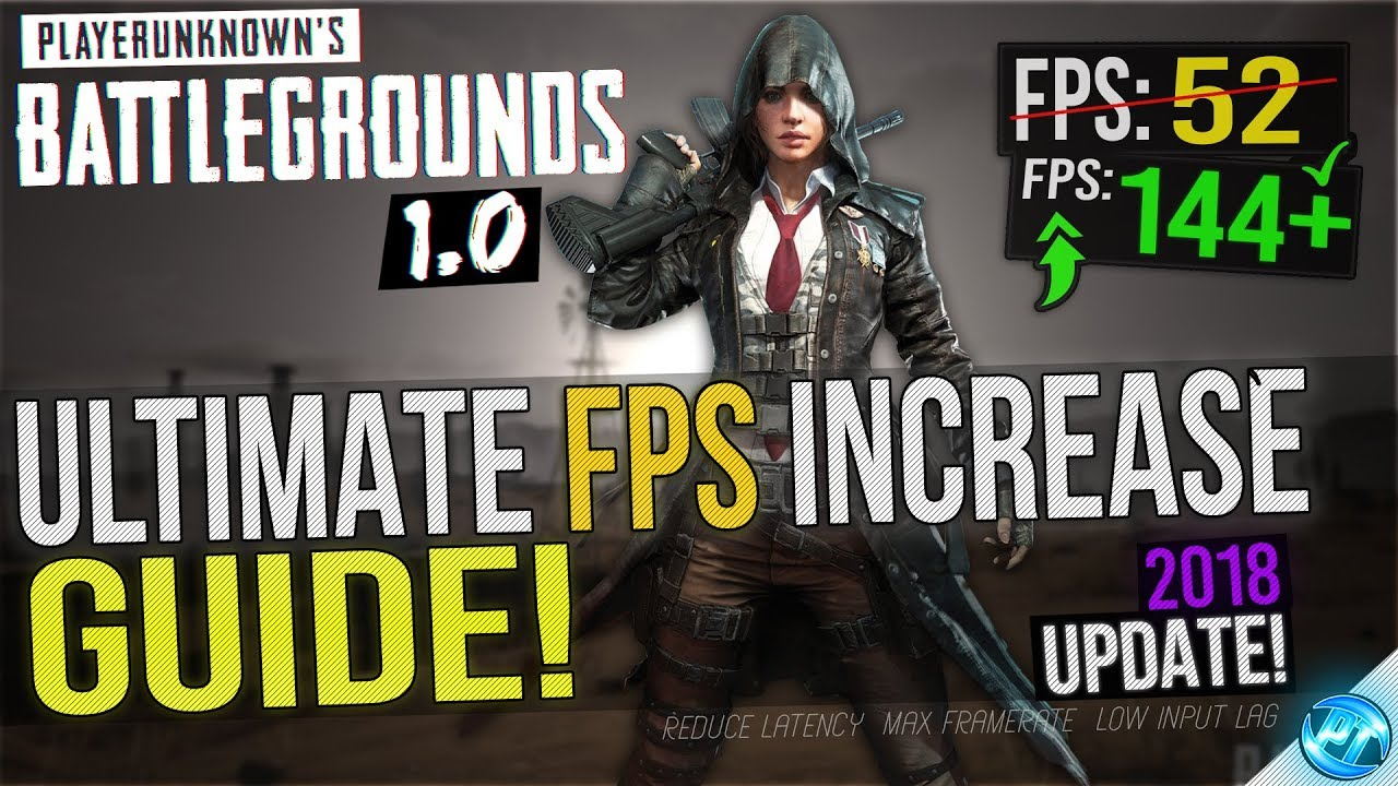 🔧 BATTLEGROUNDS: 1 0 UPDATE! Dramatically increase performance / FPS with  any setup! Lag drop fix