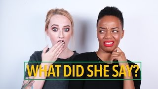 American Learns To Speak Jamaican Patois ft. JkissaMakeup | Donalee Curtis