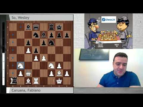 Caruana vs So: Berlin Candidatos, Ronda 1