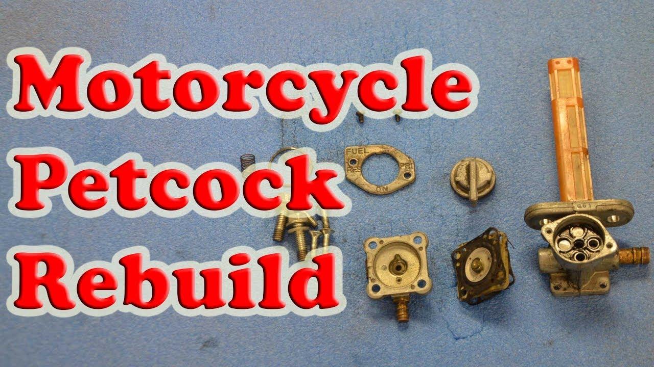 How To Rebuild Any Motorcycle Petcock Fuel Switch Youtube Gs500f Wiring Diagram