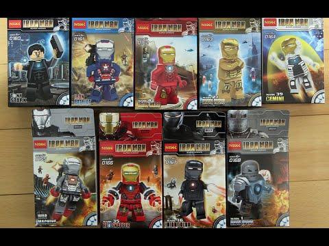 Lego Marvel SuperHeroes Iron Man 3 DeCool Bootleg Review