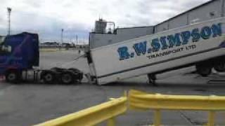The best lorry parking,ever seen /  Part 1