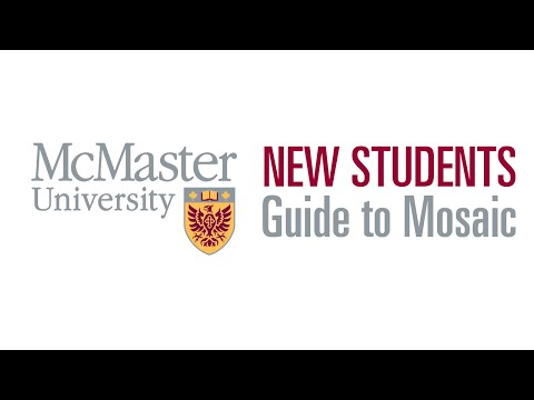 Mosaic New Students Portal Guide