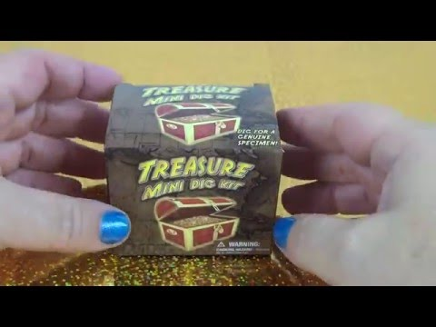 INSANE Treasure Mini Dig Kit on Fun House TV Collectible Toy