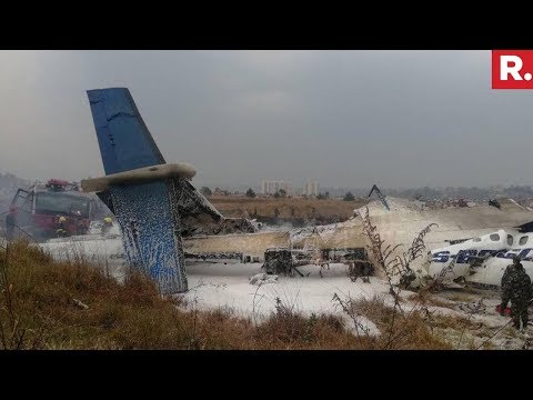 Plane Crashes At Tribhuvan International Airport In Kathmandu, Nepal