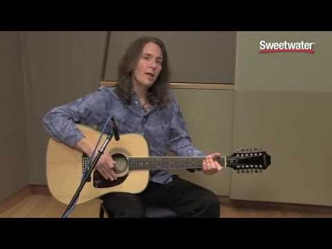 Epiphone DR-212 12-string Acoustic Guitar Demo - Sweetwater Sound