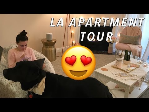 MY LA APARTMENT TOUR! (without sight)