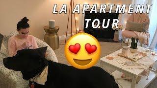 MY LA APARTMENT TOUR! (without sight)