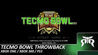 Tecmo Bowl Throwback - Xbox One