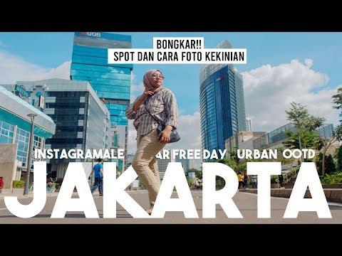 Spot Foto Dan Hunting Keren Saat Car Free Day Jakarta