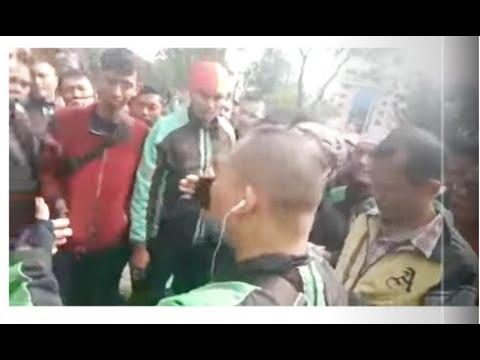 Lanjutan demo mitra driver grab Medan hari ke3