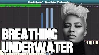 Breathing Underwater (Emeli Sande) Piano Tutorial - Free Sheet Music
