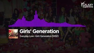 Everyday Love - Girls' Generation (SNSD) [Audio Spectrum Viualizer] Ver. [1080p]ᴴᴰ [60fps] - Stafaband