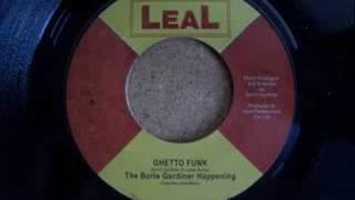 The Boris Gardiner Happening - Ghetto Funk