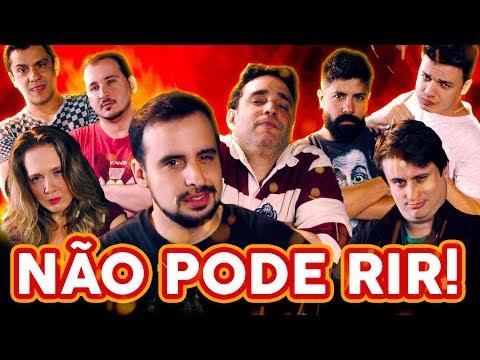 NÃO PODE RIR! - com Kwesny, Felipe Ruggeri, Eduardo Jericó e Felipe Absalão