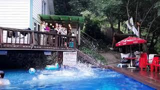 수영장 페션, 양산펜션,자연과사람들펜션(1)