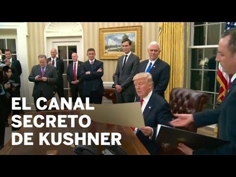 Kushner quería un canal secreto para Trump y Putin   Internacional