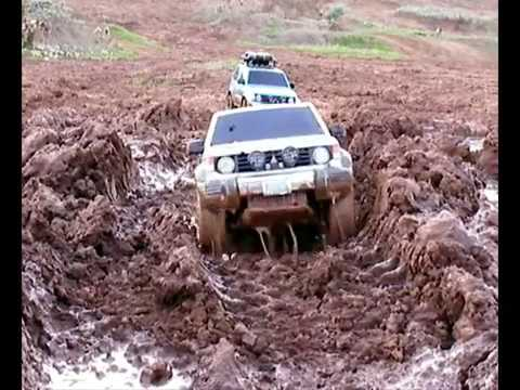 PAJERO´S TROPHY 4 -The mud day- Travel Video