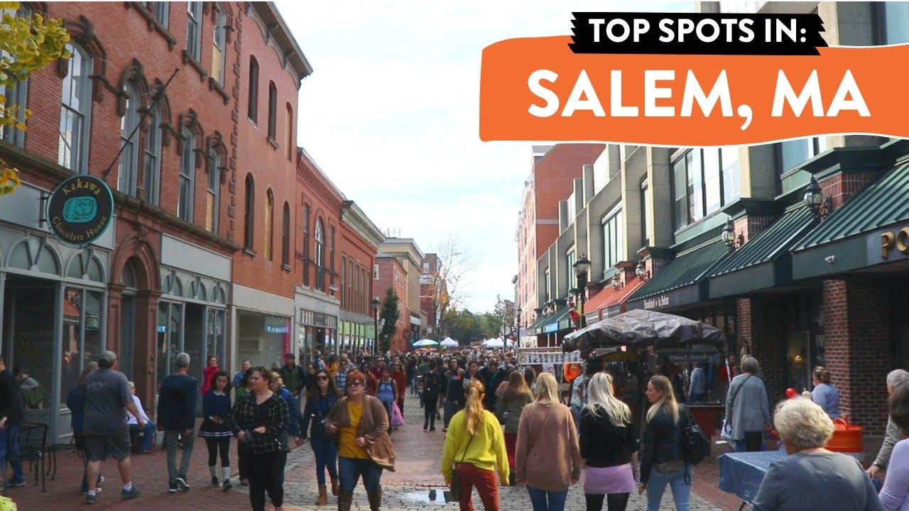 Download Salem, MA in October | My FAVORITE spots!