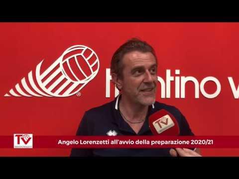 Lorenzetti all'avvio della preparazione 2020/21