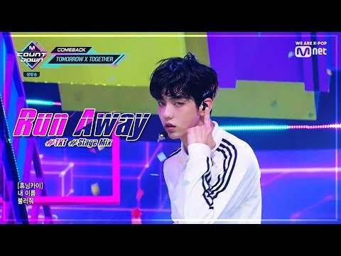 TXT () - 9 4 3    (Run Away)  (Stage Mix)