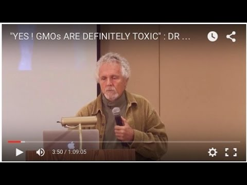"""YES ! GMOs ARE DEFINITELY TOXIC"" :  DR THIERRY VRAIN"