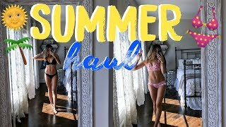 BEST FRIEND TRY ON SUMMER HAUL | Natalie Barbu