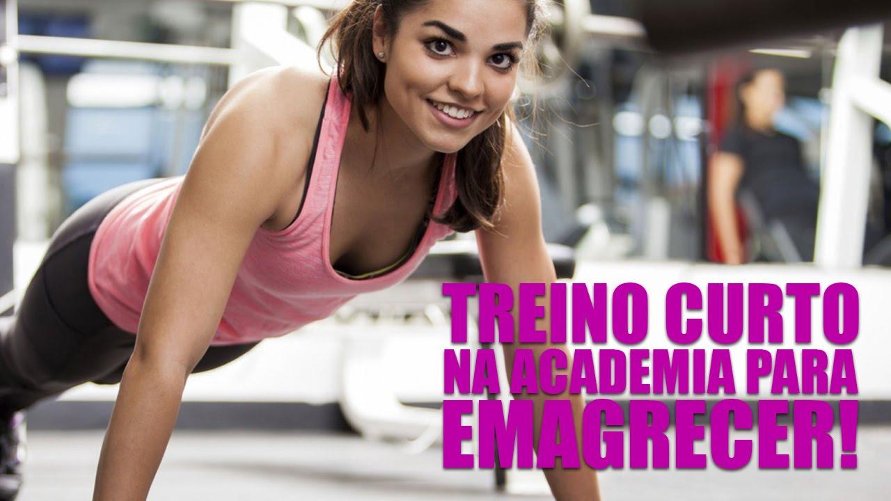 Programa de academia para perder peso
