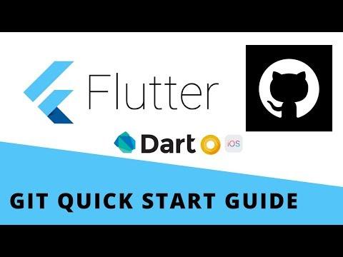 Flutter - Git Quick Start Guide   Github