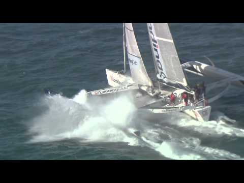 Lending Club 2 - Cowes to Dinard World Speed Sailing Record
