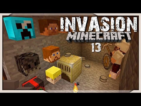 Meine Kopfwand - 13 - Minecraft Invasion Modpack - miri33 - Balui + Items4Sacred